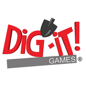 Dig-It! Games an educational games and mobile games company logo