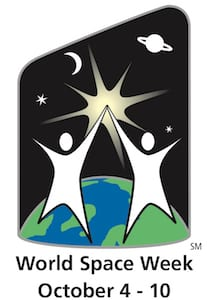 World Space Week icon