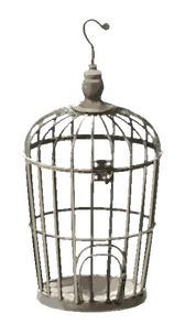 An example of a birdcage from Rome