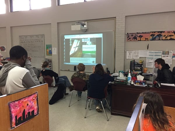 Teacher uses Excavate! social studies games in special education classroom