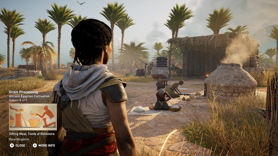 Ancient world history is brought to life in Assassin's Creed Origins Discovery Tour