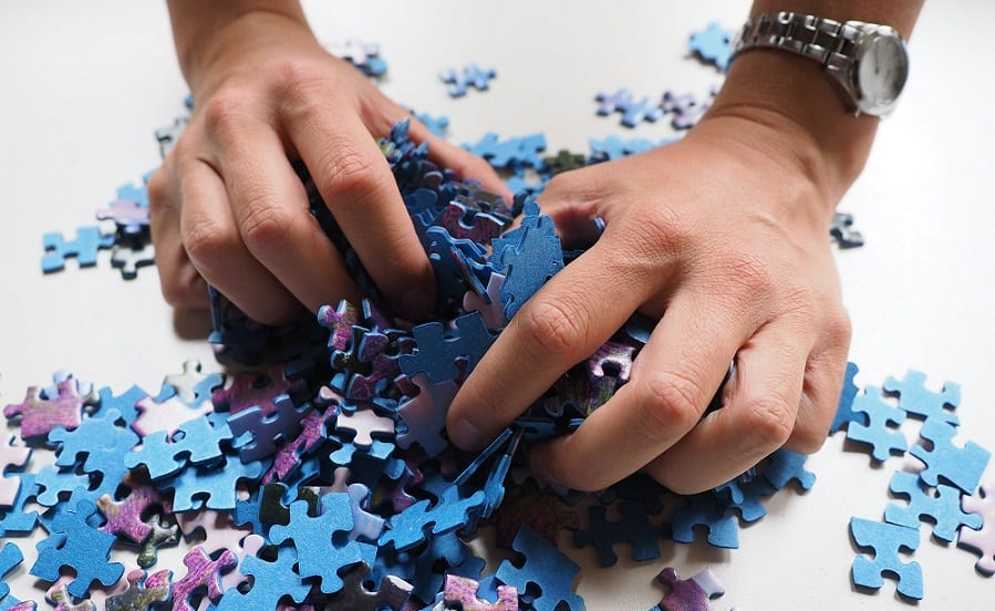 Puzzles and puzzle games