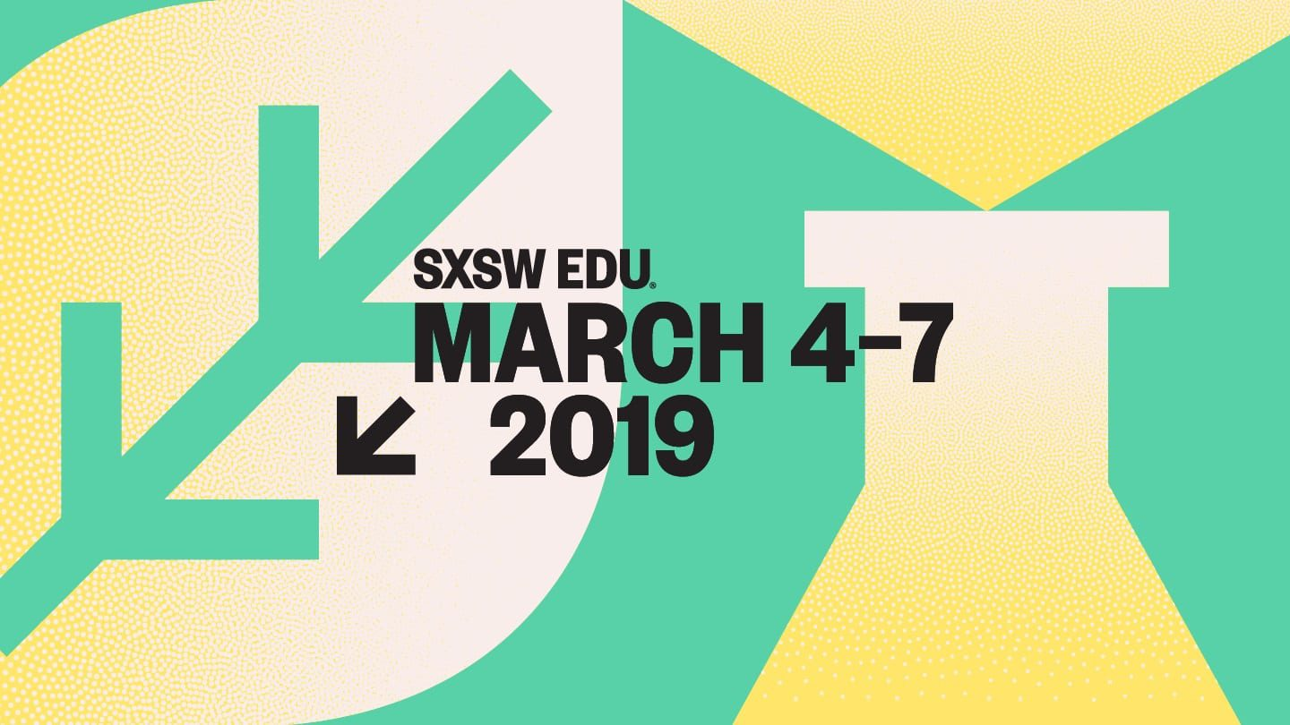 SXSW educational conference poster