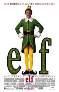 Elf, a classic holiday movie